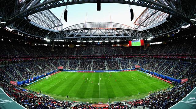 Ngắm sân vận động khổng lồ nơi diễn ra chung kết World Cup 2018 - Ảnh 1.