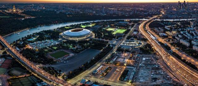Ngắm sân vận động khổng lồ nơi diễn ra chung kết World Cup 2018 - Ảnh 7.