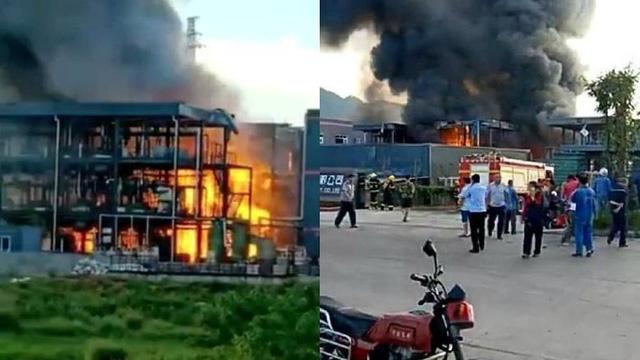 Nổ nhà máy hóa chất Trung Quốc, 19 người thiệt mạng - Ảnh 1.