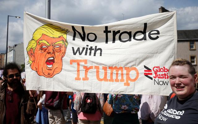 Trả lời báo Anh, ông Trump khẳng định tái tranh cử tổng thống Mỹ - Ảnh 2.