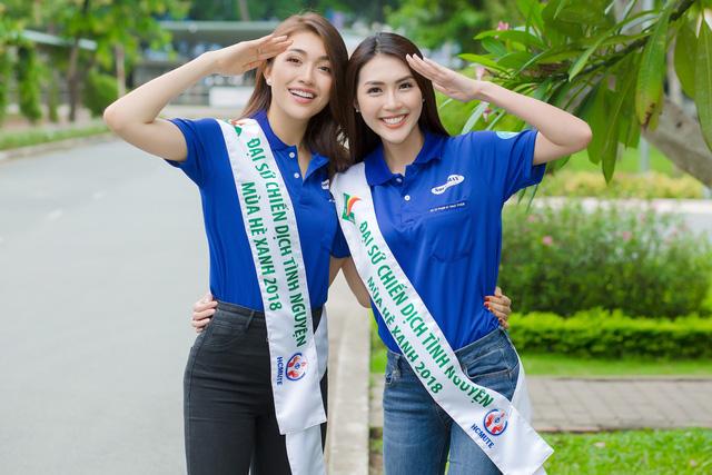 Lệ Hằng, Tường Linh trở thành đại sứ chiến dịch Mùa hè xanh - Ảnh 1.