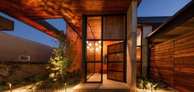 Ngôi nhà bằng vật liệu tái chế vừa đẹp, vừa sang - Ảnh 9.