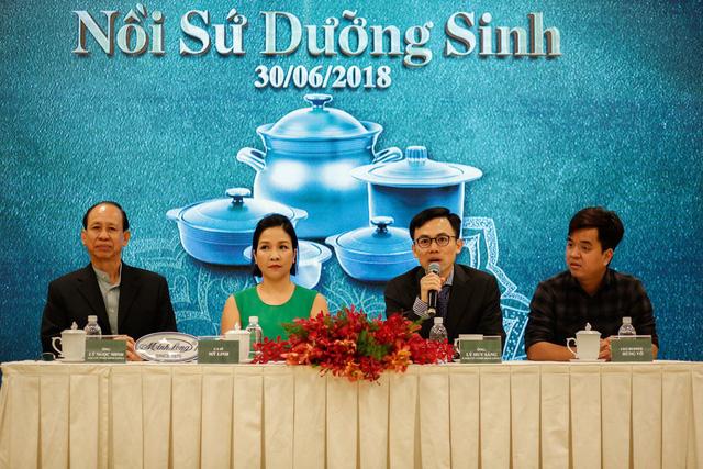 Minh Long ra mắt bộ sản phẩm nồi sứ dưỡng sinh  - Ảnh 3.