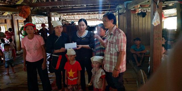 BIDV hỗ trợ gia đình các nạn nhân lũ quét tại Lai Châu, Hà Giang - Ảnh 2.