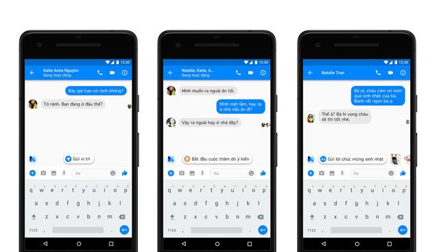 Facebook ra mắt tính năng trợ lý ảo cho người dùng Messenger tại Việt Nam - Ảnh 1.