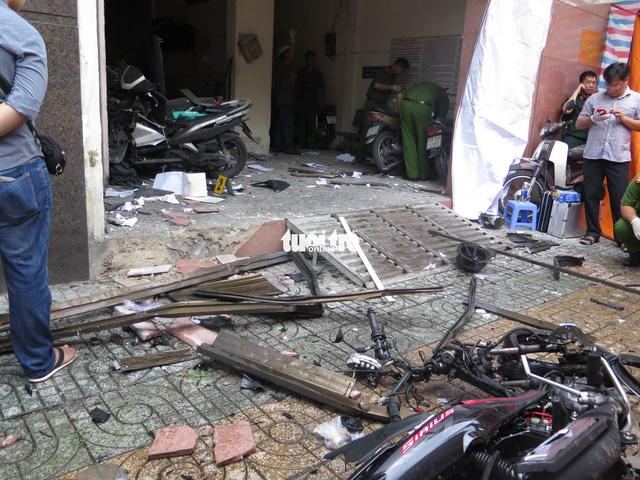 Bắt 8 nghi phạm khủng bố trụ sở công an phường tại TP.HCM - Ảnh 1.