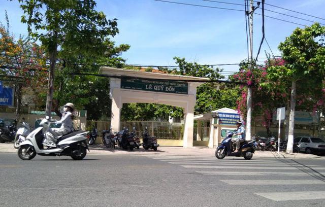 Kiến nghị giữ lại Trường THPT chuyên Lê Quý Đôn, Nha Trang - Ảnh 1.