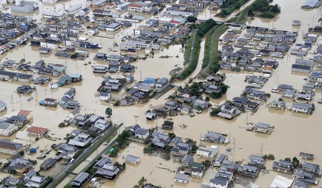 Ít nhất 88 người chết do mưa lớn lịch sử ở phía tây Nhật Bản - Ảnh 2.