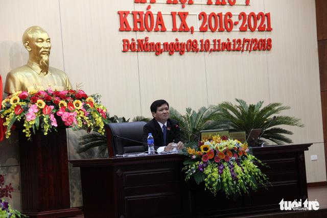HĐND Đà Nẵng đã có chủ tịch mới thay ông Nguyễn Xuân Anh - Ảnh 1.
