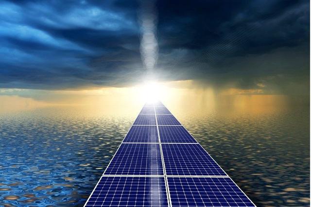 Tokyo làm đường năng lượng mặt trời phục vụ Olympics - Ảnh 1.