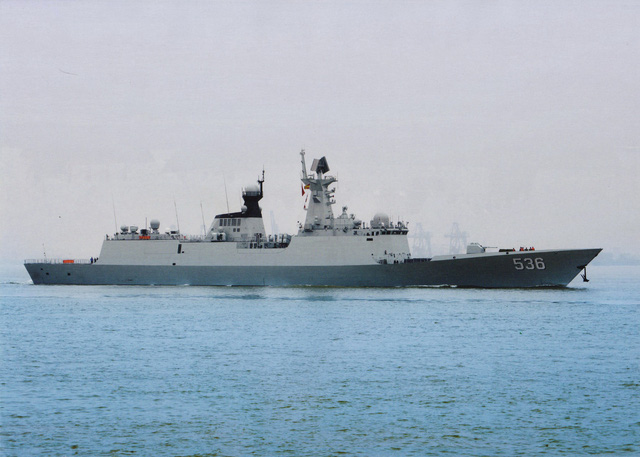Đáng lo với đội tàu chiến đóng mới của Hải quân Trung Quốc - Ảnh 6.