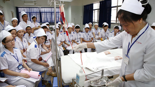 Việt Nam sắp có trường đầu tiên đào tạo tiến sĩ điều dưỡng