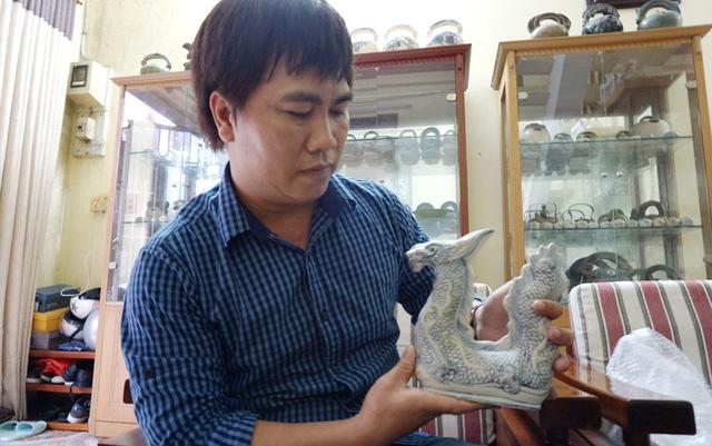 Cổ vật hồi hương: Sự trở về của đồ gốm cổ Chu Đậu - Ảnh 3.