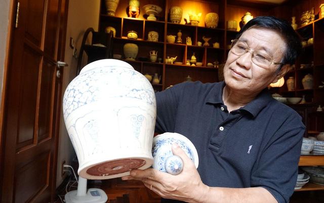 Cổ vật hồi hương: Sự trở về của đồ gốm cổ Chu Đậu - Ảnh 1.