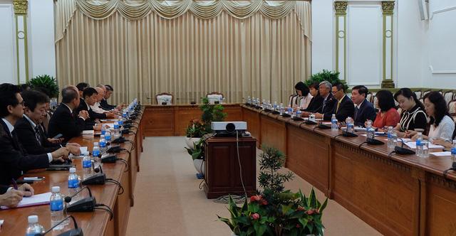 TP.HCM mời doanh nghiệp Nhật tham gia đề án đô thị thông minh - Ảnh 1.