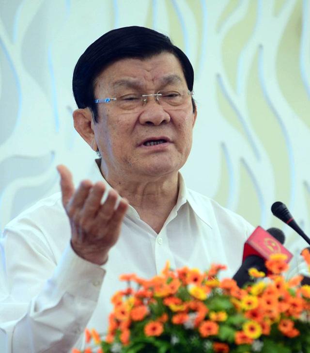 Nguyên Chủ tịch nước Trương Tấn Sang - Ảnh tư liệu Tuổi Trẻ