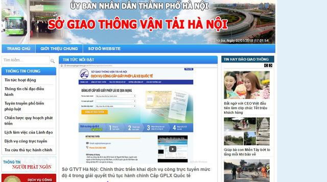 Hà Nội bắt đầu cấp bằng lái xe quốc tế qua mạng - Ảnh 1.
