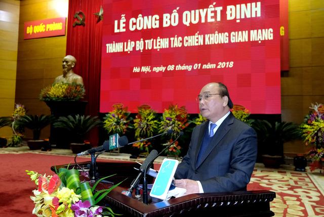 Việt Nam thành lập Bộ tư lệnh Tác chiến không gian mạng - Ảnh 1.