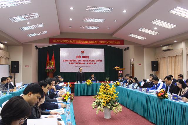 Khai mạc Hội nghị Ban thường vụ Trung ương Đoàn khóa XI lần thứ nhất - Ảnh 1.