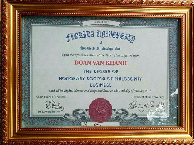 Một nông dân Việt Nam nhận bằng Tiến sĩ danh dự của Mỹ - Ảnh 2.