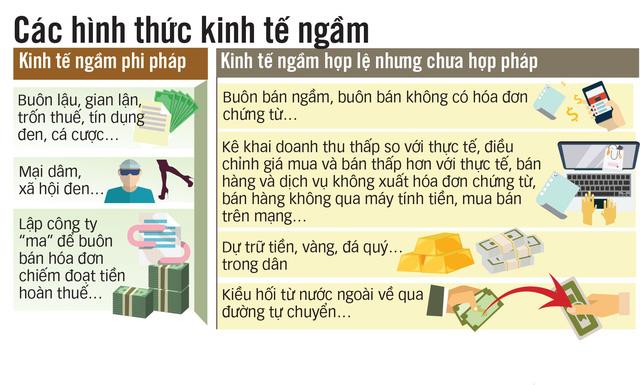 Soi kinh tế ngầm quy mô 60 tỉ đô ở Việt Nam - Ảnh 5.