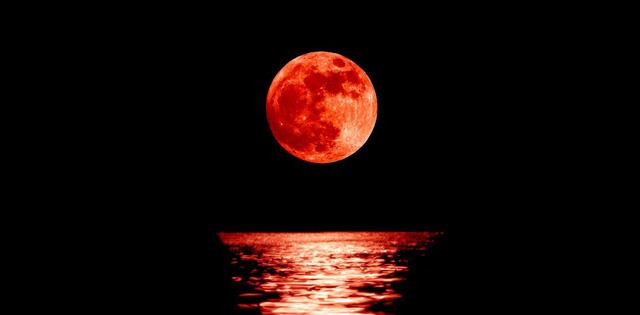 Ngắm trăng xanh, siêu trăng, trăng máu cùng một ngày - Ảnh 2.