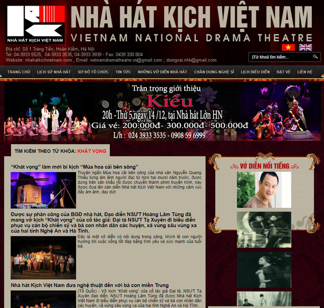 Nhà văn Nguyễn Quang Thiều: Tôi cần lời xin lỗi từ Nhà hát Kịch Việt Nam - Ảnh 2.