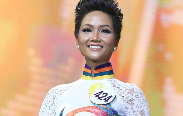 Hoa hậu Hoàn vũ Việt Nam 2017 H'Hen Niê.