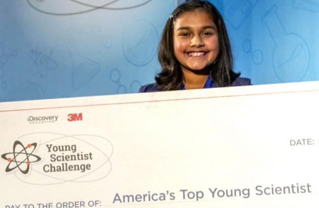 Nữ sinh 12 tuổi chế tạo máy phát hiện nước nhiễm chì - Ảnh 1.