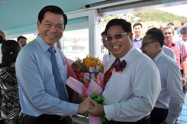 Khai trương tàu cao tốc kết nối Vũng Tàu với miền Tây - Ảnh 2.