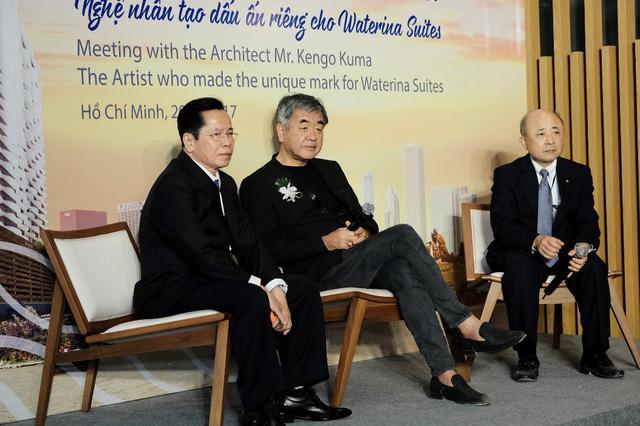 Waterina Suites - Công trình đầu tiên của Kengo Kuma tại Việt Nam - Ảnh 2.