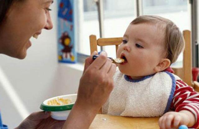 Dinh dưỡng cho trẻ ăn dặm - Ảnh 1.
