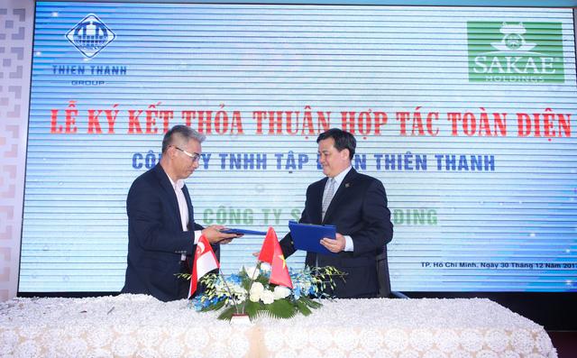 Tập đoàn vật liệu xây dựng VN hợp tác với Singapore - Ảnh 1.
