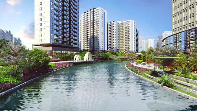 """""""Chất Nhật"""" trong căn hộ kênh đào Flora Mizuki - Ảnh 1."""