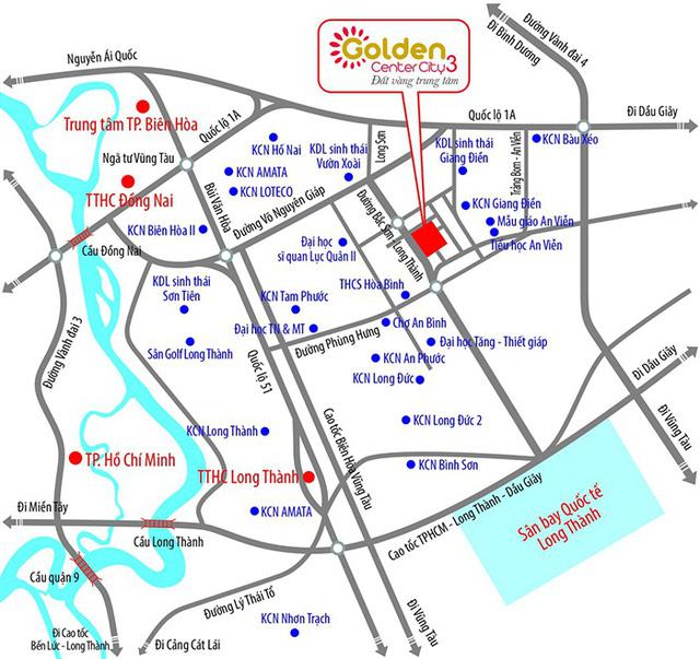 Golden Center City 3: Tâm điểm đầu tư đất nền Đồng Nai - Ảnh 2.