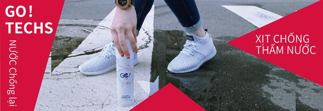 Công nghệ mới: bình xịt chống thấm nước giày dép - Ảnh 2.
