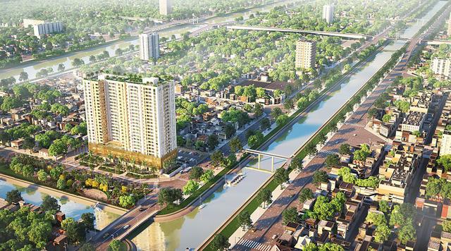 Aurora: căn hộ hai mặt tiền sông tại Bến Bình Đông - Ảnh 4.