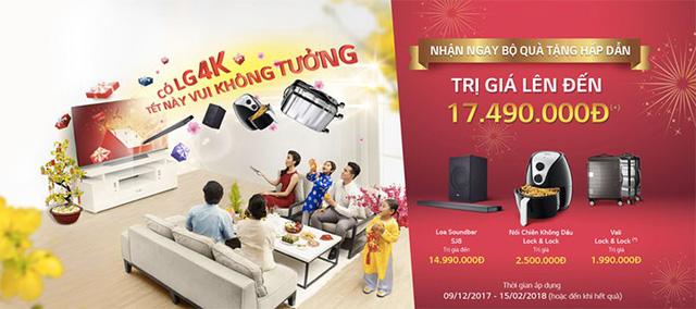 Lựa chọn TV LG 4K: chất từ công nghệ đến quà tặng - Ảnh 4.