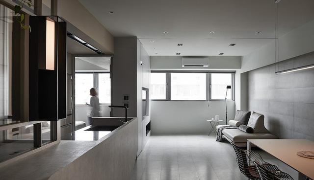 Dùng ánh sáng để trang trí toàn căn hộ - Ảnh 9.