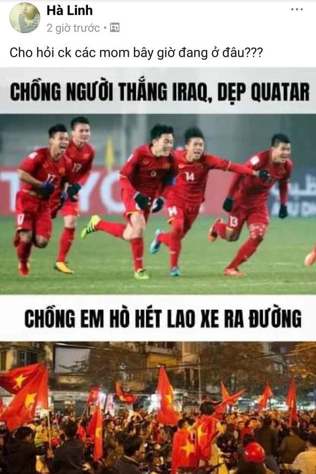 Không nhịn nổi cười với cách ăn mừng chiến thắng U23 Việt Nam của người hâm mộ