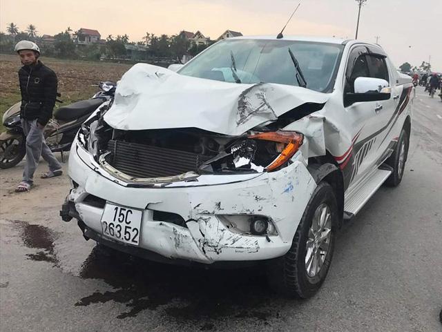 Truy tìm lái xe tông chết hai nữ sinh lớp 9 rồi bỏ chạy - Ảnh 1.