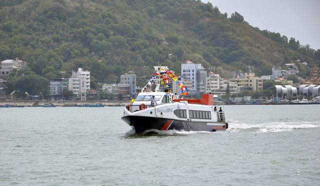 Khai trương tàu cao tốc kết nối Vũng Tàu với miền Tây - Ảnh 1.