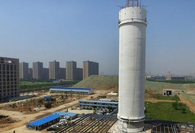 Trung Quốc thử nghiệm tháp lọc không khí cao nhất thế giới - Ảnh 1.
