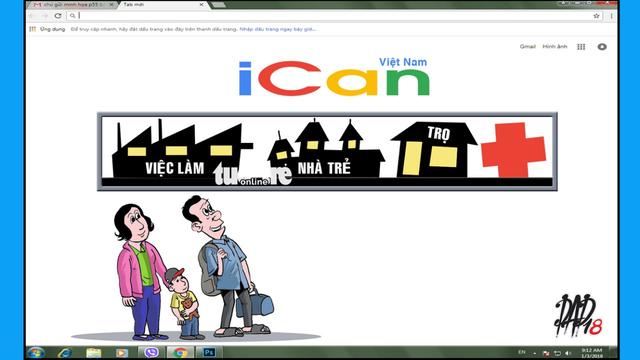 Muốn giúp người nhập cư, hãy cứ làm như iCan - Ảnh 1.