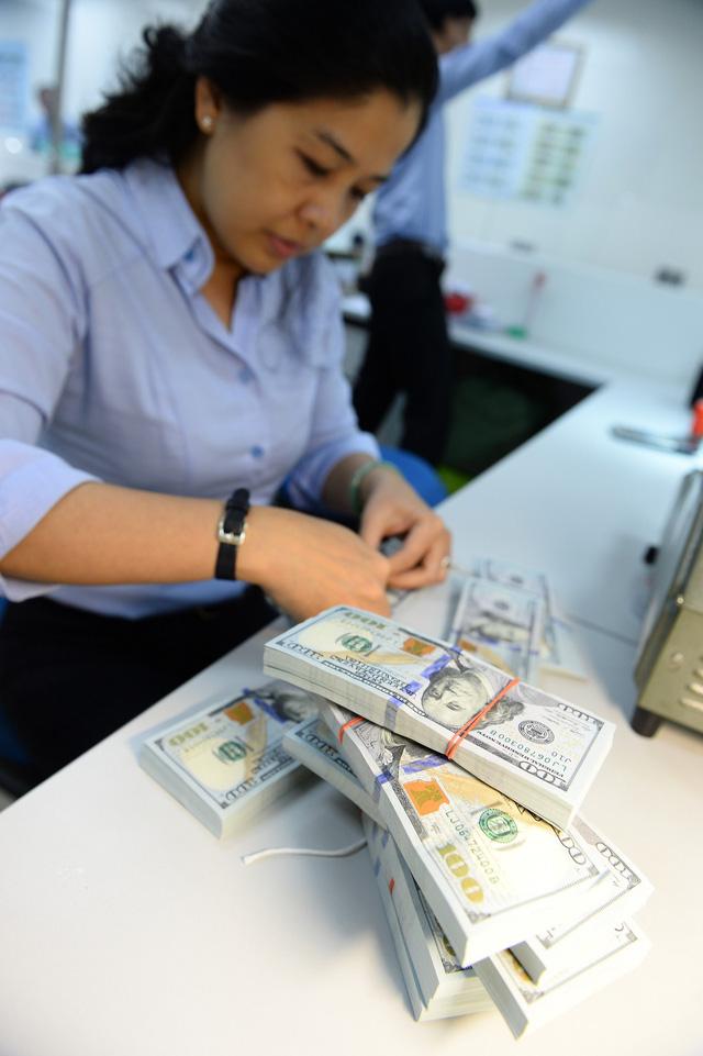 Dự trữ có 54,5 tỉ USD, giá 'đô' tự do rẻ hơn ngân hàng - ảnh 1
