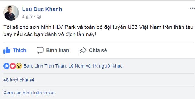 Nhiều công ty cho nhân viên nghỉ làm xem U-23 Việt Nam thi đấu - Ảnh 2.