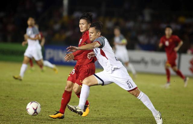 Tuyển VN thắng Philippines 4-2 ở trận đá tập tại Qatar - Ảnh 3.