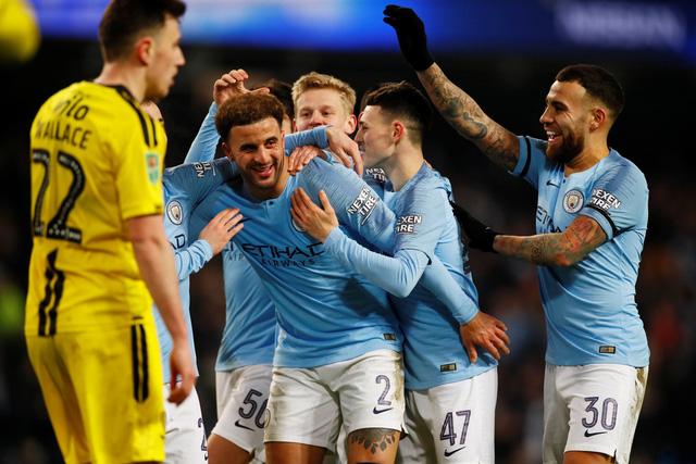 Hủy diệt Burton Albion 9-0, M.C cầm chắc vé vào chung kết Cúp Liên đoàn - Ảnh 2.