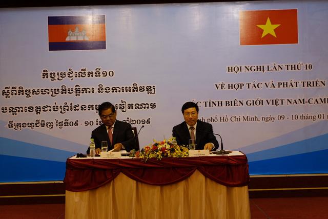 Hợp tác biên giới Việt Nam - Campuchia: Sự hợp tác lâu đời cần phải giữ - Ảnh 1.