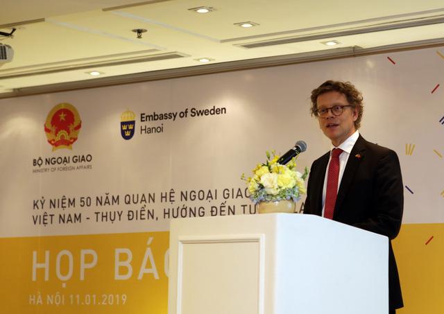 50 năm quan hệ Việt Nam - Thụy Điển: Yêu nhau vạn sự chẳng nề - Ảnh 1.